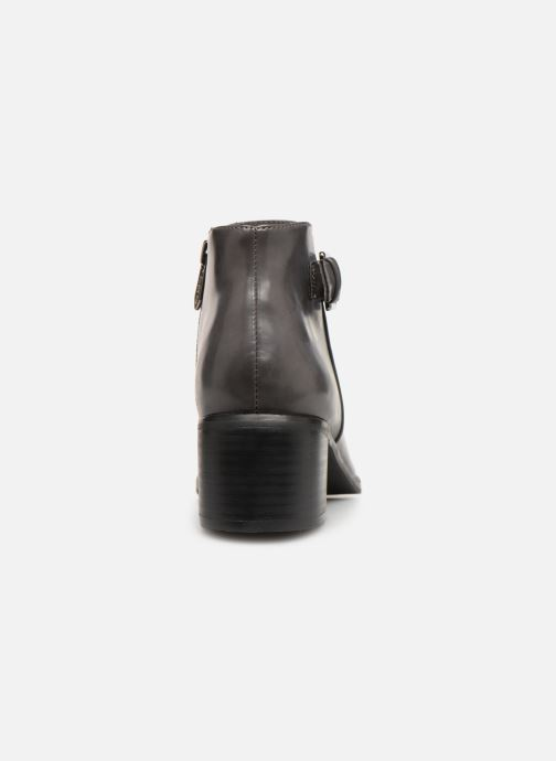 Ankle boots Les P'tites Bombes JOSEPHINE Grey view from the right