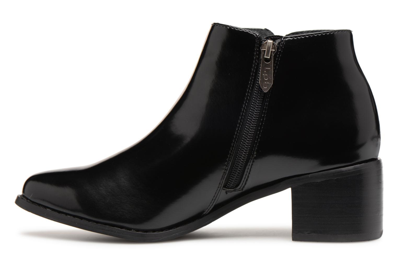 Bottines et boots Les P'tites Bombes JOSEPHINE Noir vue face