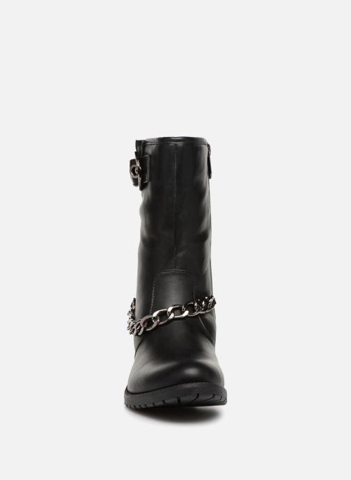 Bottines et boots Les P'tites Bombes LOANNE Noir vue portées chaussures