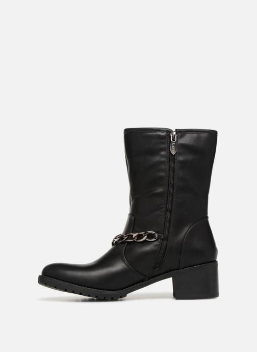 Bottines et boots Les P'tites Bombes LOANNE Noir vue face
