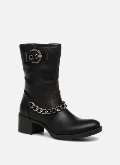 Boots en enkellaarsjes Les P'tites Bombes LOANNE Zwart detail