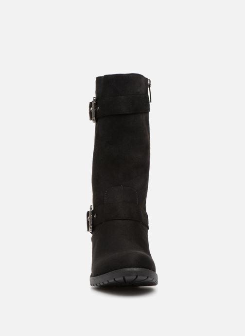 Bottes Les P'tites Bombes LISE Noir vue portées chaussures