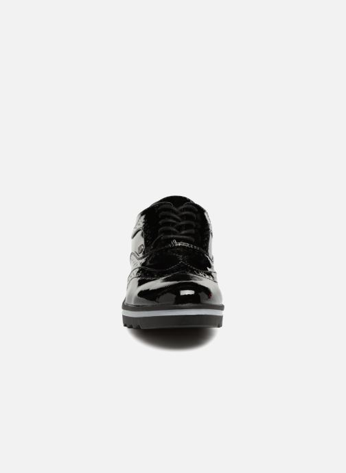 Chaussures à lacets Les P'tites Bombes GARANCE Noir vue portées chaussures