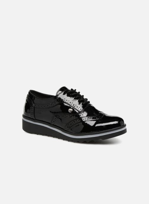 Chaussures à lacets Les P'tites Bombes GARANCE Noir vue détail/paire