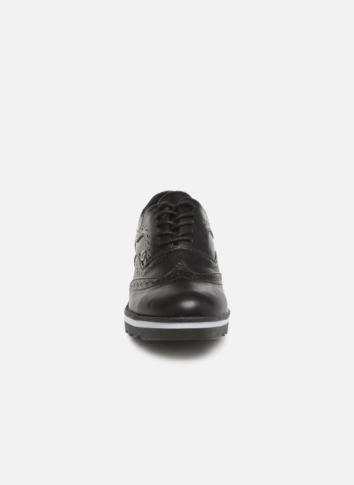 Lace-up shoes Les P'tites Bombes GARANCE Black model view