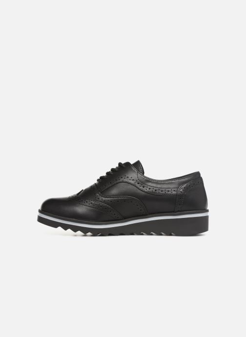 Zapatos con cordones Les P'tites Bombes GARANCE Negro vista de frente