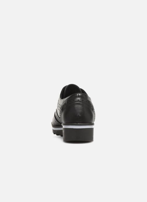 Chaussures à lacets Les P'tites Bombes GARANCE Noir vue droite