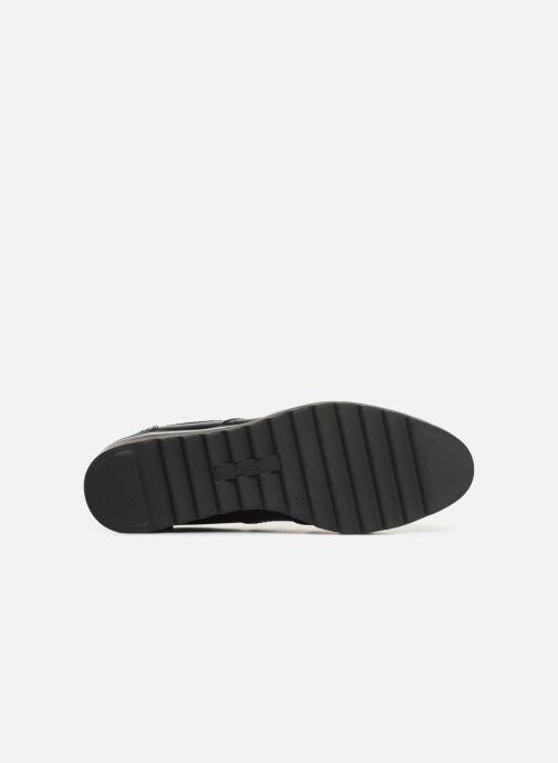 Zapatos con cordones Les P'tites Bombes GARANCE Negro vista de arriba