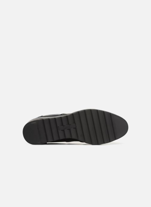 Lace-up shoes Les P'tites Bombes GARANCE Black view from above