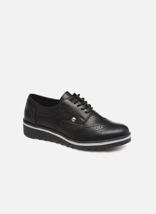 Zapatos con cordones Les P'tites Bombes GARANCE Negro vista de detalle / par