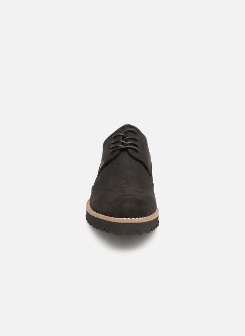 Chaussures à lacets Les P'tites Bombes GIOVANNA Noir vue portées chaussures