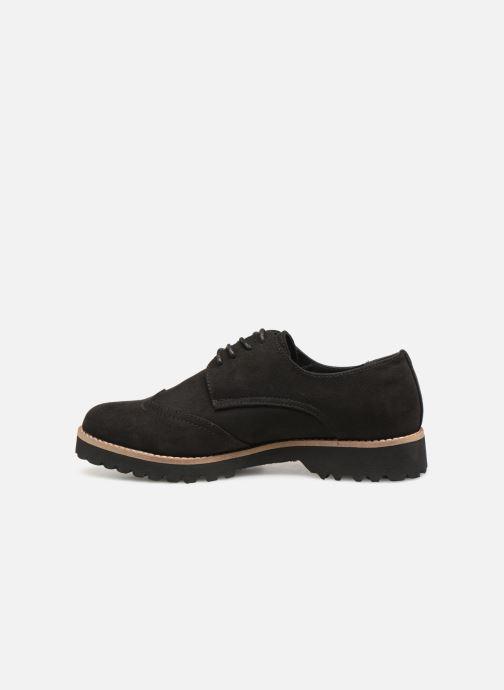 Chaussures à lacets Les P'tites Bombes GIOVANNA Noir vue face
