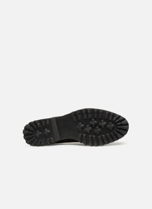 Lace-up shoes Les P'tites Bombes GIOVANNA Black view from above