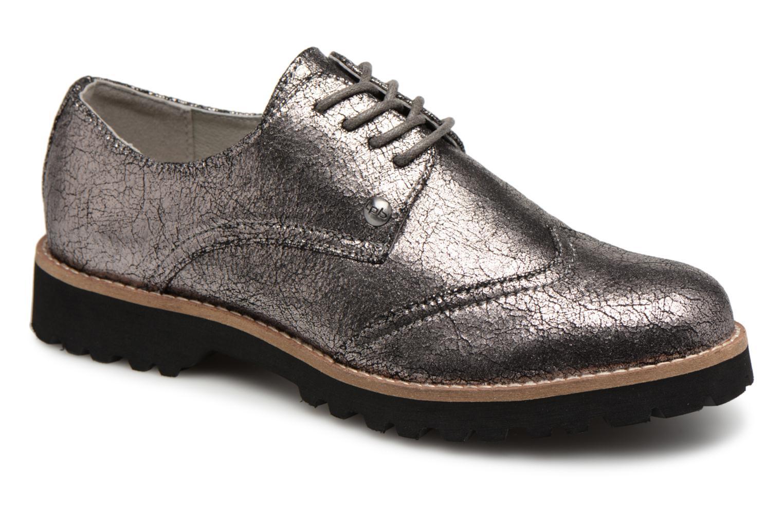 Zapatos de mujer baratos zapatos P'tites de mujer  Les P'tites zapatos Bombes GIOVANNA (Plateado) - Zapatos con cordones en Más cómodo cb3a9b