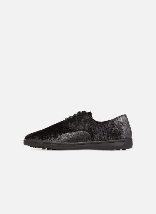 Chaussures à lacets Les P'tites Bombes FLORENCE Noir vue face