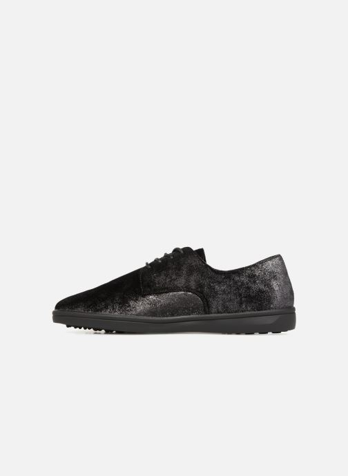 Zapatos con cordones Les P'tites Bombes FLORENCE Negro vista de frente