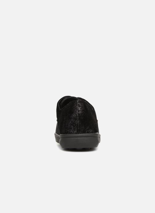 Zapatos con cordones Les P'tites Bombes FLORENCE Negro vista lateral derecha