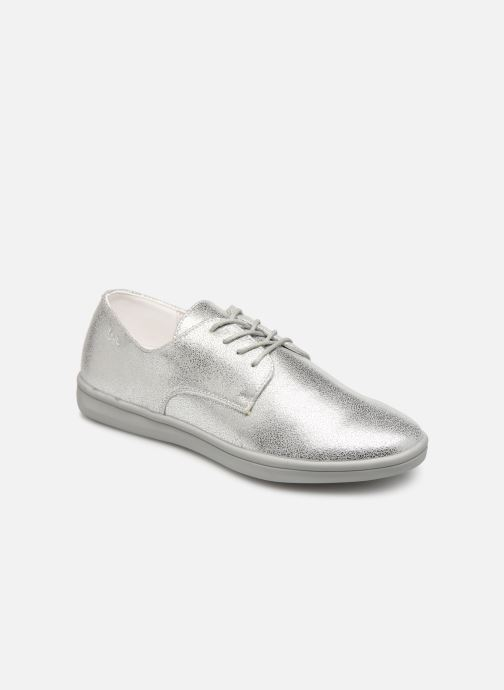 Zapatos con cordones Les P'tites Bombes FLORENCE Plateado vista de detalle / par