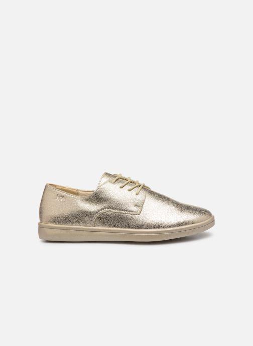 Chaussures à lacets Les P'tites Bombes FLORENCE Or et bronze vue derrière