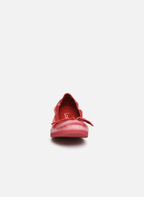 Ballet pumps Les P'tites Bombes EMMA BRUSH Pink model view