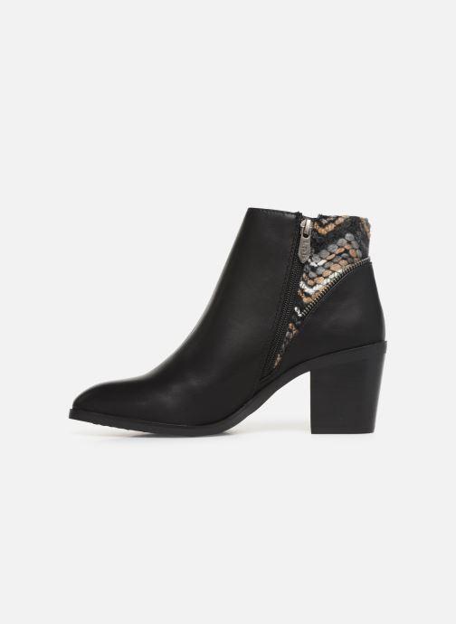 Ankle boots Les P'tites Bombes IVE Black front view