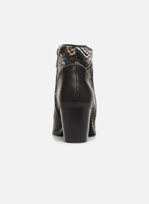 Ankle boots Les P'tites Bombes IVE Black view from the right