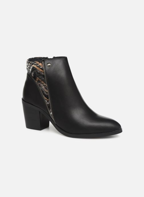 Ankle boots Les P'tites Bombes IVE Black detailed view/ Pair view