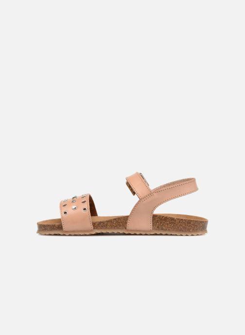 Sandales et nu-pieds PèPè Lola Rose vue face