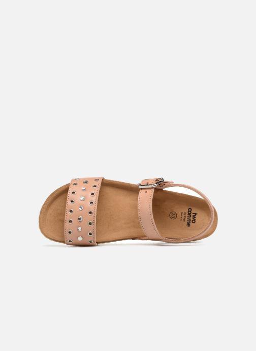 Sandales et nu-pieds PèPè Lola Rose vue gauche