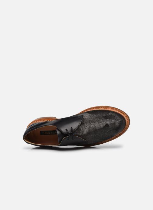 Zapatos con cordones Neosens CONCORD Gris vista lateral izquierda