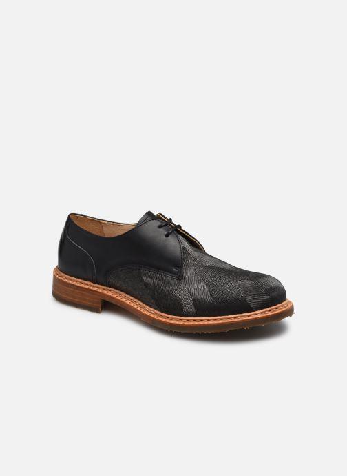 Zapatos con cordones Neosens CONCORD Gris vista de detalle / par