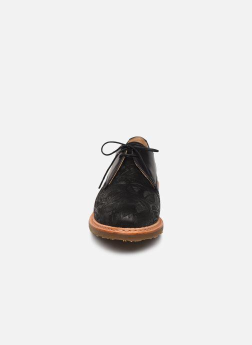 Chaussures à lacets Neosens CONCORD Noir vue portées chaussures