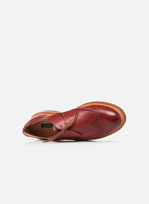 Chaussures à lacets Neosens CONCORD 2 Rouge vue gauche