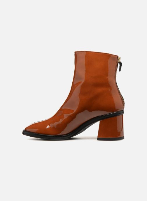 Ankle boots Miista Cybil Spiced Brown front view