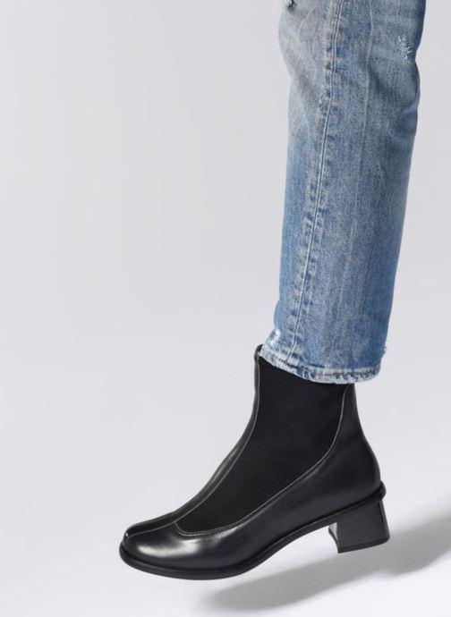 Bottines et boots Neosens ELVIRA Noir vue bas / vue portée sac