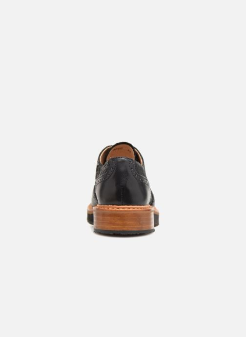 Lace-up shoes Neosens SUMOLL Black view from the right