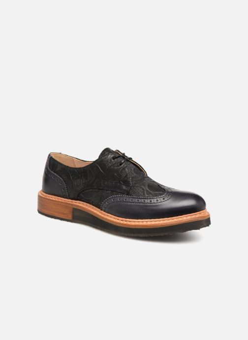 Lace-up shoes Neosens SUMOLL Black detailed view/ Pair view