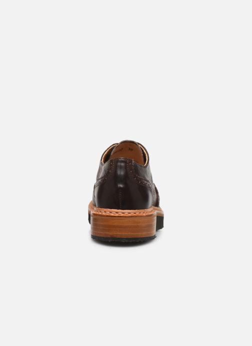 Zapatos con cordones Neosens SUMOLL Marrón vista lateral derecha