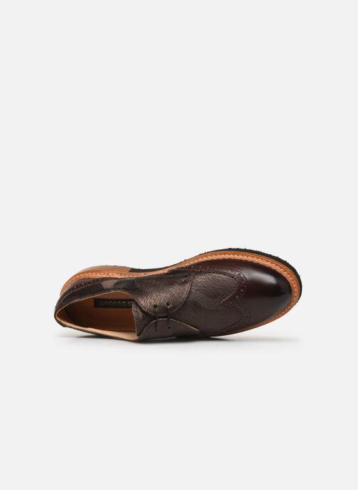 Zapatos con cordones Neosens SUMOLL Marrón vista lateral izquierda