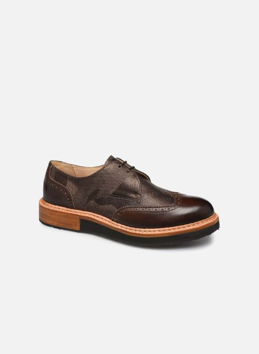 Zapatos con cordones Neosens SUMOLL Marrón vista de detalle / par