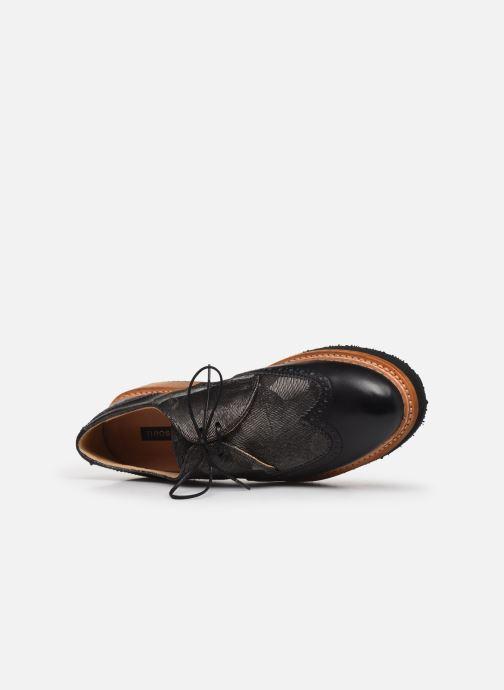 Zapatos con cordones Neosens SUMOLL Gris vista lateral izquierda
