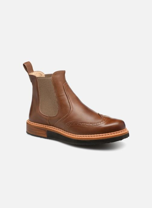 Ankelstøvler Neosens SUMOLL 4 Brun detaljeret billede af skoene