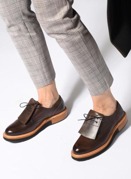 Chaussures à lacets Neosens SUMOLL 3 Marron vue bas / vue portée sac