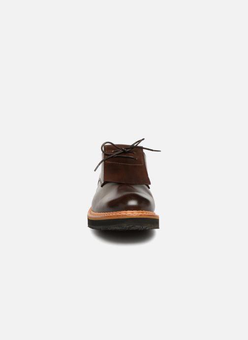 Chaussures à lacets Neosens SUMOLL 3 Marron vue portées chaussures