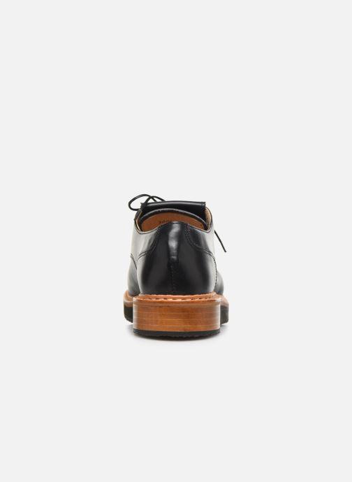 Zapatos con cordones Neosens SUMOLL 3 Negro vista lateral derecha