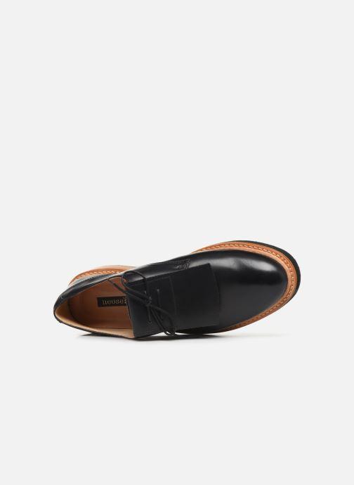 Zapatos con cordones Neosens SUMOLL 3 Negro vista lateral izquierda