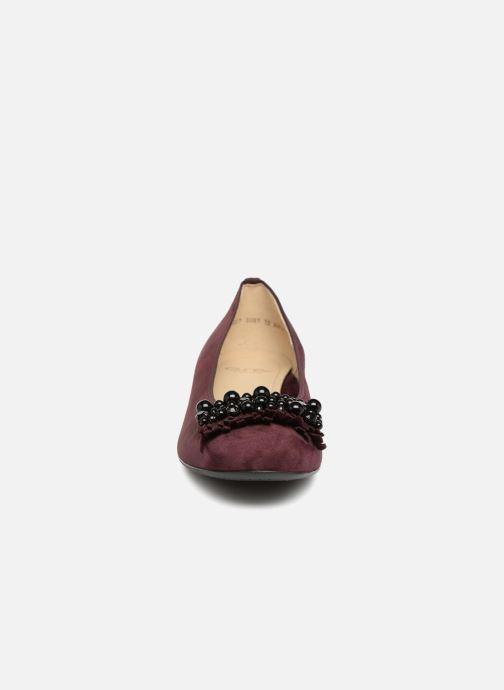 Ballerines Ara Bari 33741 Bordeaux vue portées chaussures