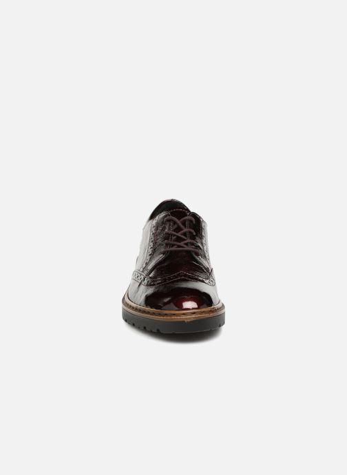 Zapatos con cordones Ara Richmont 16502 Vino vista del modelo