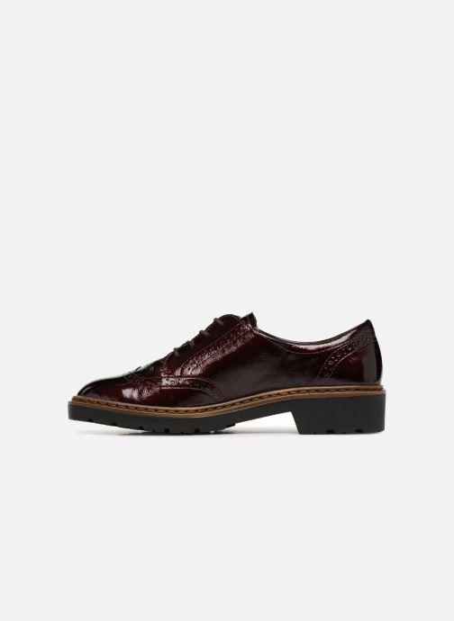 Zapatos con cordones Ara Richmont 16502 Vino vista de frente