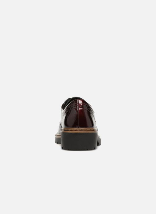 Zapatos con cordones Ara Richmont 16502 Vino vista lateral derecha